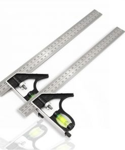 Adjustable 300MM Combination Steel Square Ruler