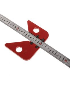 Center Line Drawing Ruler Gauge Carpenter Layout Tool