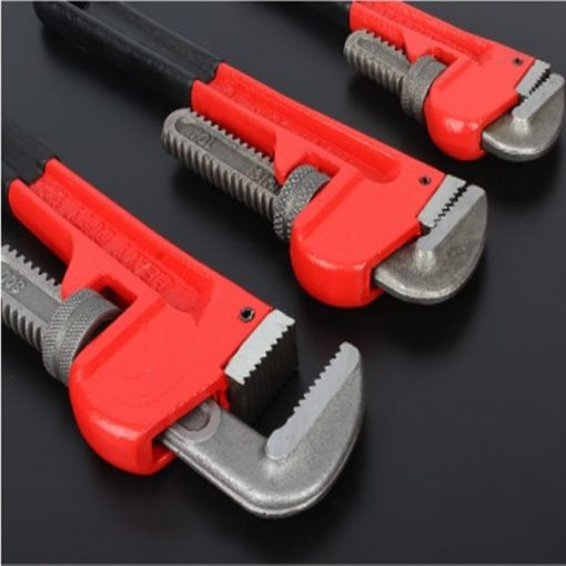 High Quality Plumber's Adjustable Pipe Wrench