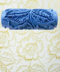 3D Rubber Decorative Wall Pattern Paint Roller