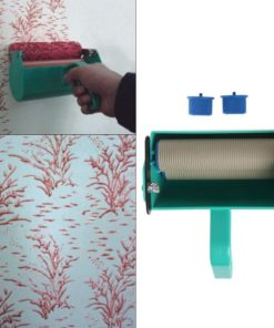Single Color Decoration Paint Painting Machine For 7 Inch Wall Roller Brush Tool