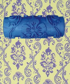 Pattern 5in. 3D Rubber Decorative Wall Paint Roller