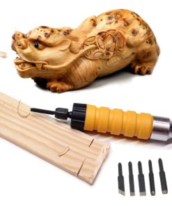 Chisel with Flexible Shaft Carving Tool Set